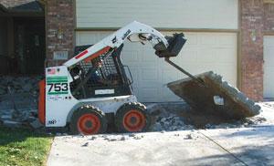 Concrete removal cherry hill nj