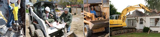 Camden, NJ demolition contractor - RJM Construction