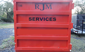 Dumpster Rental in Cherry Hill NJ from RJM Construction Services