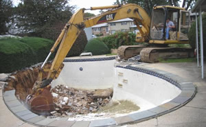 Concrete and Swimming Pool Removal in Camden New Jersey from RJM